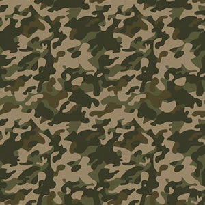 PAPEL CONTACT DECORADO MILITAR ROLO 45CM X 10 METROS