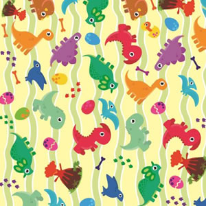 PAPEL CONTACT DECORADO DINO ROLO 45CM X 10 METROS