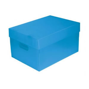 CAIXAS ORGANIZADORAS THE BEST BOX GRANDE 437 X 310 X 240 AZUL
