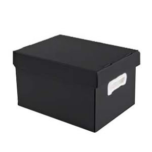 CAIXAS ORGANIZADORAS THE BEST BOX GRANDE 437 X 310 X 240 PRETO