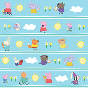 PAPEL CONTACT ANIMADO 45CM X 10 METROS PEPPA E AMIGOS